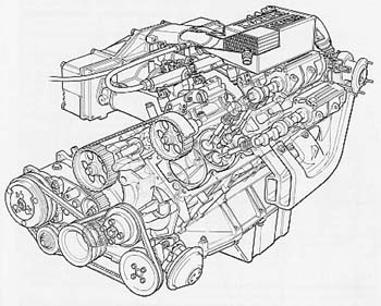 esprit chargecooler diagram original dry sump and non intercooled unit and you will see that the basic engine principles remained