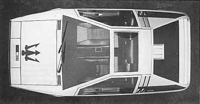 Giuggaro (ItalDesign) Maserati