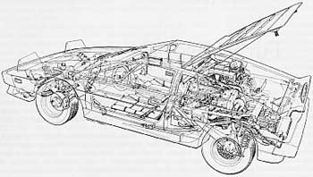 year by year esprit history andrew dibben s excellent cutaway drawing of the esprit turbo in left hand drive form shows off the neat packaging of this exciting mid engined model