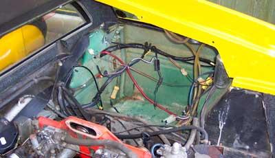 Esprit Petrol Tank Repair