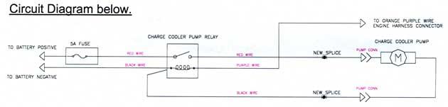 esprit electric chargecooler pump, Wiring diagram