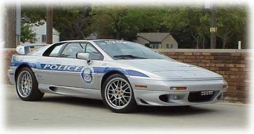 Lotus Esprit Policía Police Coche Car